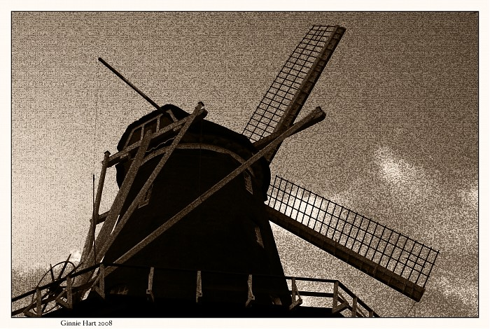 A Windmill Canvas