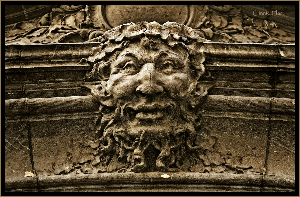 photoblog image Green Man