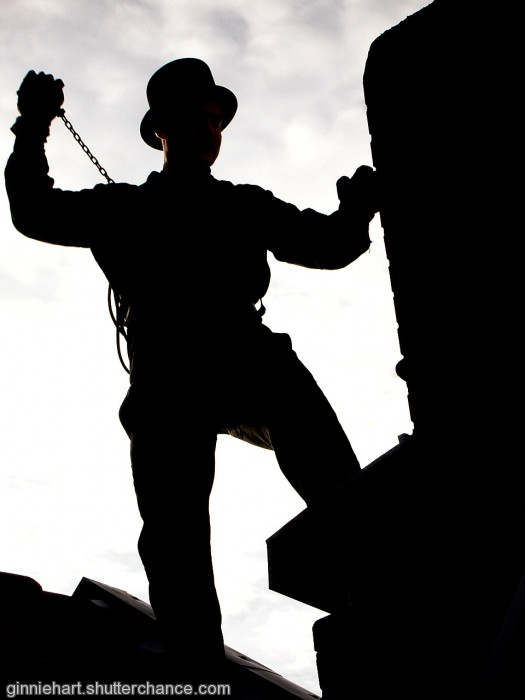 photoblog image Chimney Sweep
