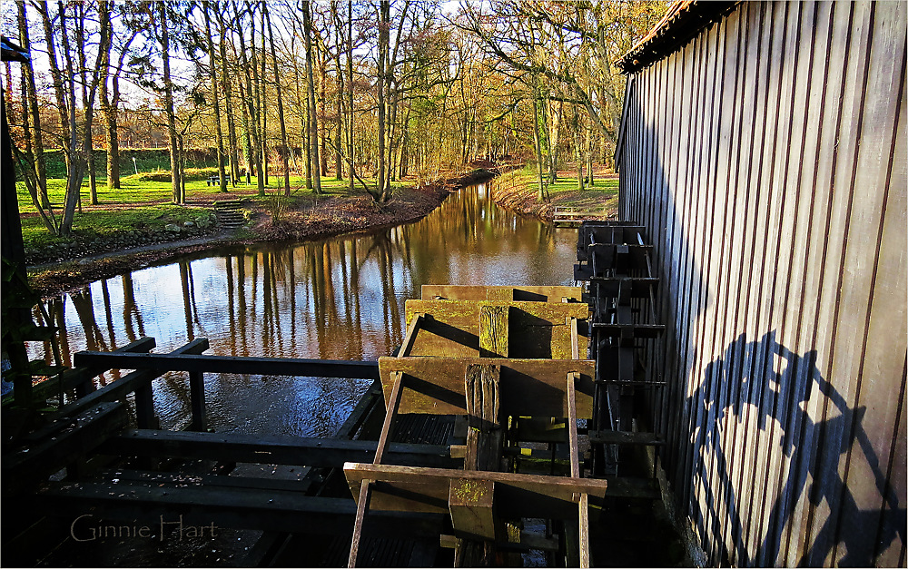 photoblog image Watermill Friday