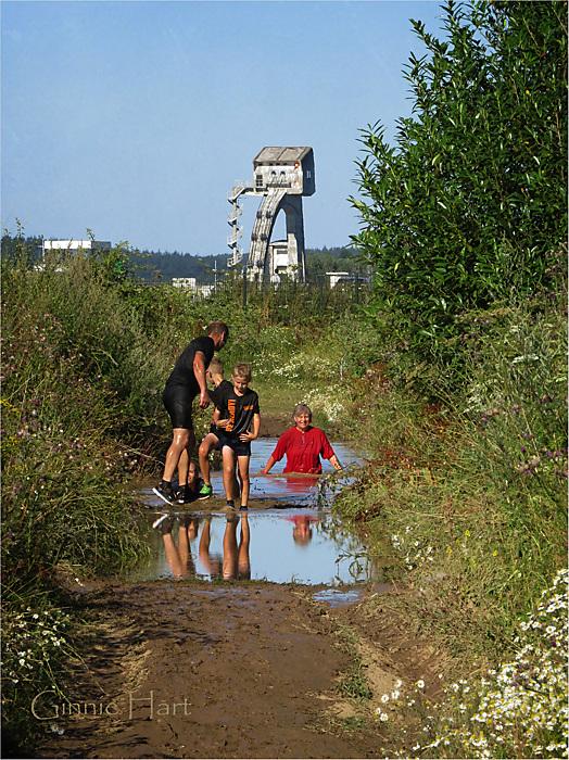 photoblog image Mud and Water Challenge (Maurik, NL) #3